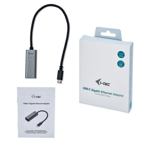 I-TEC Adaptateur Gigabit Ethernet - USB 3.1 Type-C Metal