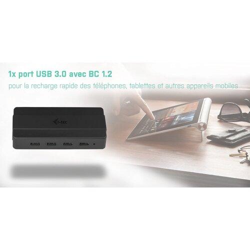 I-TEC Hub USB 3.0 4 Ports avec alimentation