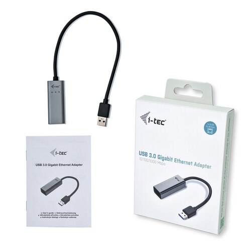 I-TEC Adaptateur USB3.0 Ethernet Gigabit