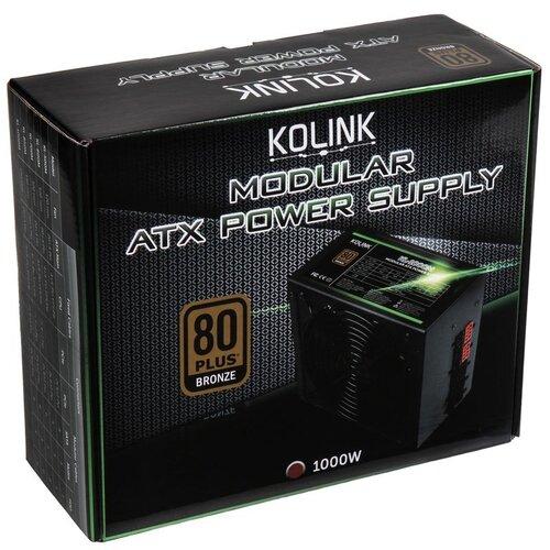 Kolink Alimentation KL-1000M 80Plus Bronze 1000W Modulaire