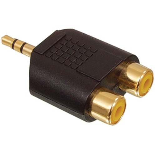 VALUELINE Adaptateur Jack Stereo 3.5mm (M) vers RCA Stereo (F)
