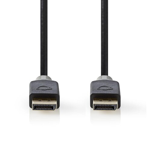 Nedis Câble DisplayPort (M-M) 1.4 8K plaqué Or 2.00m