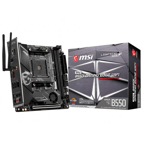 MSI B550i Gaming Edge Wifi MITX DDR4 Wifi6-Bt 5.1