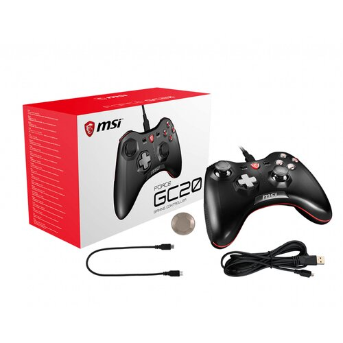 MSI Force GC20 Gaming USB Manette Filaire