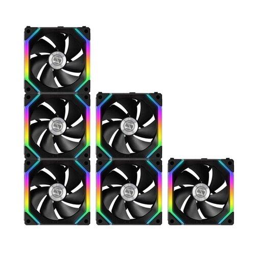 Lian-Li Kit de 3X Ventilateurs UNIFAN SL120 120mm ARGB PWM Noir
