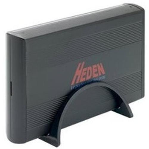 """HEDEN Boîtier pour disque dur 3.5"""" - Combo SATA/IDE -  USB 2.0 - Aluminium"""