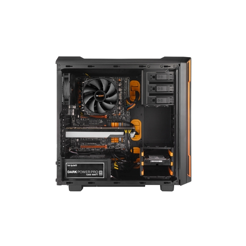 BEQUIET! Silent Base 600 Orange Boîtier ATX