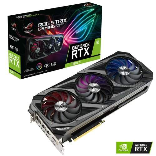 ASUS Nvidia GeForce RTX 3070 Ti Rog Strix OC 8Go LHR