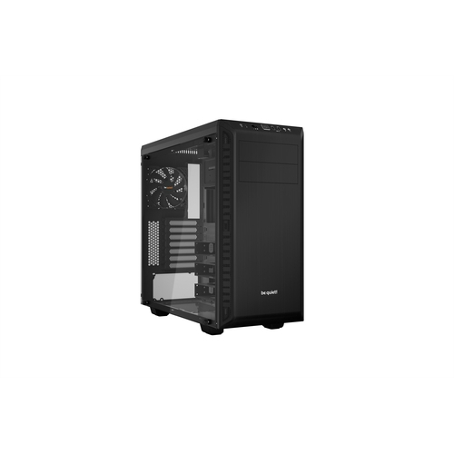 BEQUIET! Pure Base 600 Black Window Boîtier Glass Tempered ATX