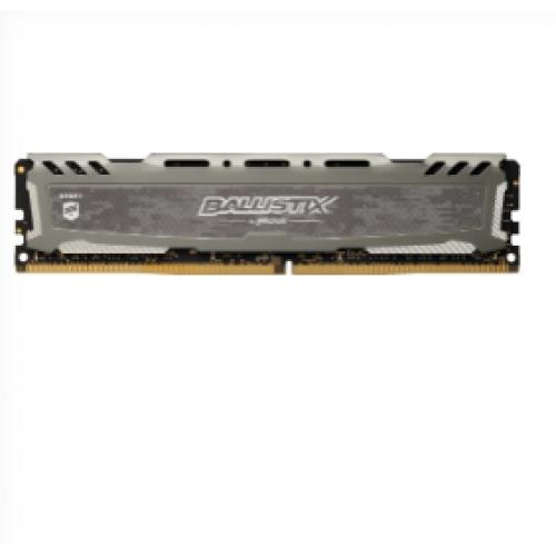 CRUCIAL Ballistix Sport LT Grey Dimm DDR4 8Go 2666Mhz