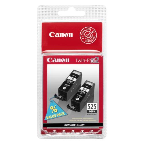 CANON Cartouches PGI-525 PGBK Pack de 2 - Noir