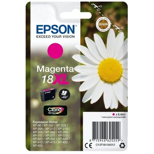 EPSON Cartouche 18 XL - Magenta