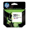HP Cartouche N° 351 XL - Tricolore