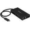 STARTECH Adaptateur multiport USB Type-C - HDMI - Eth Gbe - Audio - USB 3.0