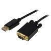 STARTECH Câble actif DisplayPort (M) - VGA (M) 1.80m