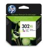 HP Cartouche N° 302 XL - Tricolore