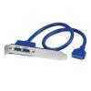 STARTECH USB3SPLATE Slot plate pour 2x USB 3.0