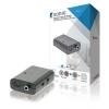 KONIG Convertisseur Audio Toslink/SPDIF (F) avec Sortie RCA (F)